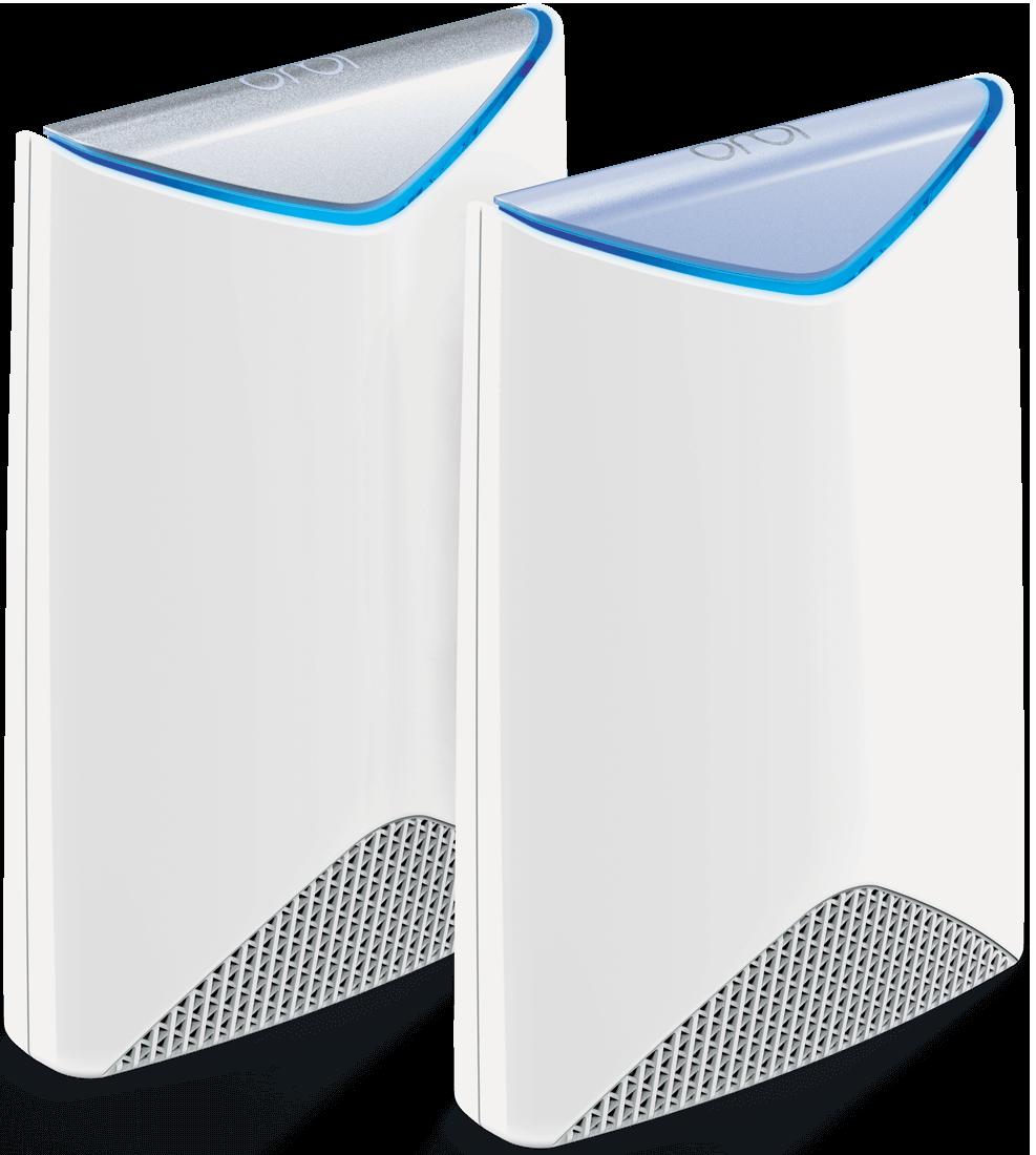 Zwei Orbi Pro Geräte